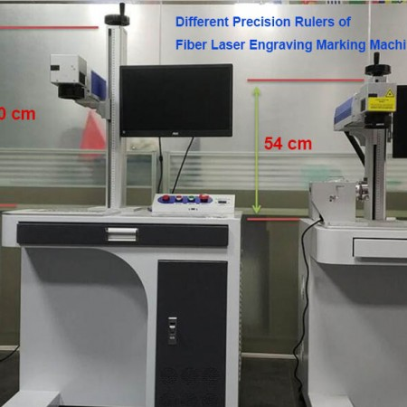 Laser Engraving Marking Machines with Different Precision Ruler Configuration