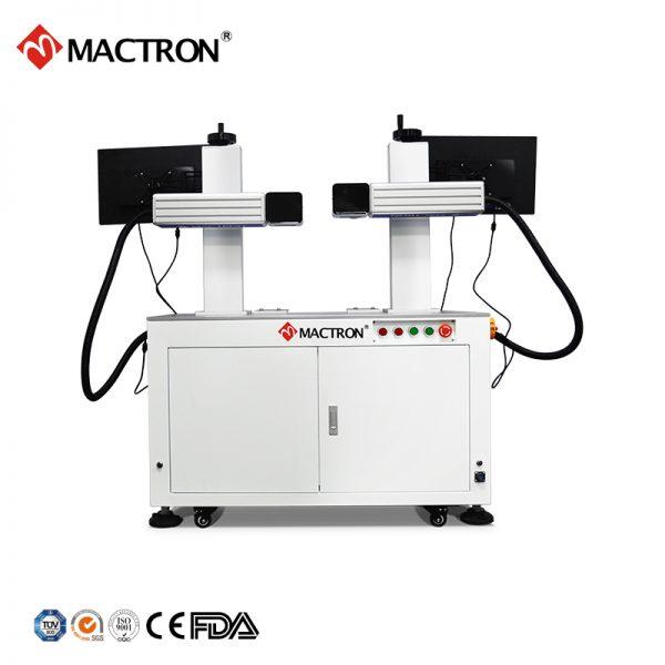 双头光纤激光打标机 (2)